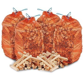 Leña de madera de calidad ideal para hogueras, estufas,