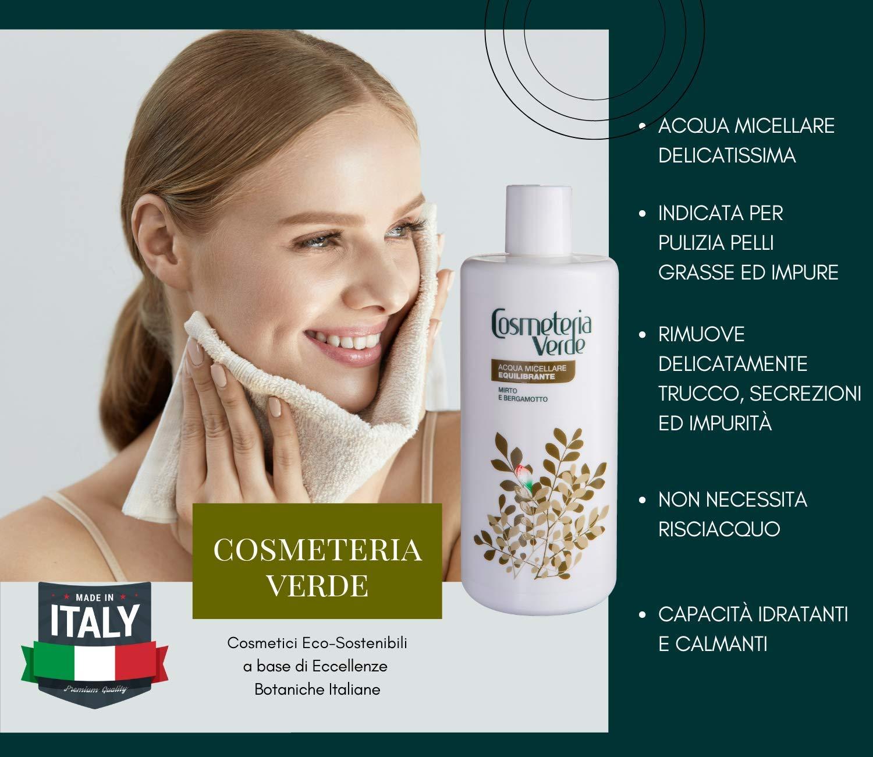 Agua Micelar Equilibrante Cosmeteria Verde - Remueve dulcemente las impurezas, las celulas muertas,las secreciones de la piel y el maquillaje sin algún ...