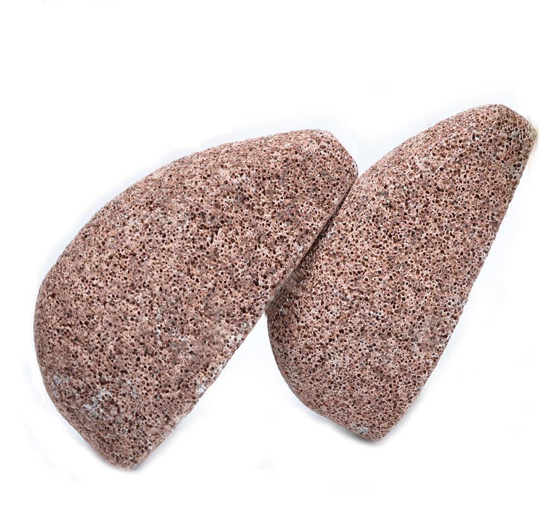 Cura per i piedi, Horsky 2pcs Cura dei piedi pietra per piede pietra piede pietra pomice piede Pomice Pietra Pomice Naturale di cura le mani di piede rigidi secchi a secco Viso corpsfissuré tallone Horsky pied AC0001XX