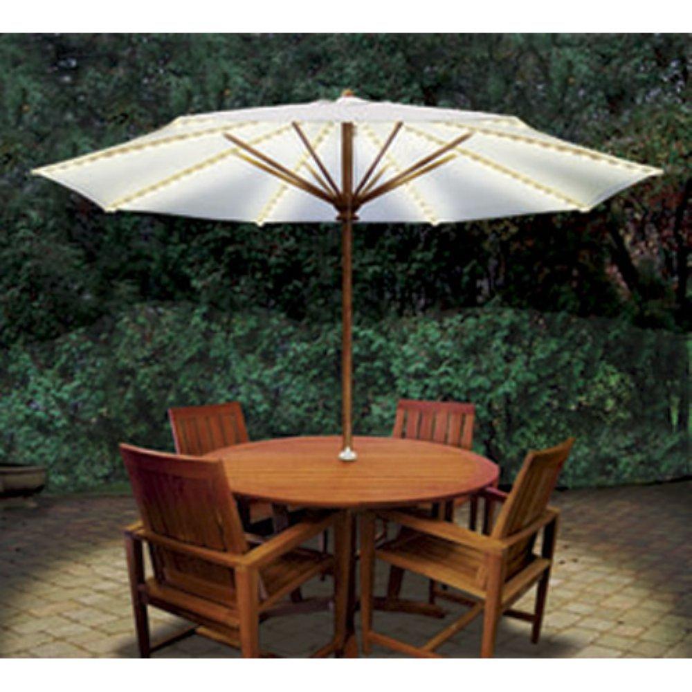 Blue Star Group BRELLA LIGHTS - Patio Umbrella Lighting System With Power Pod