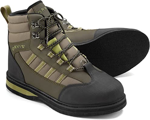 NEW SIZE 11 ORVIS ENCOUNTER WADING BOOTS WITH FELT SOLES FULL FEATURED