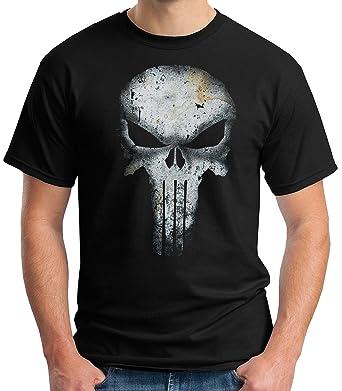 fba359747ae9d 35mm - Camiseta Hombre - The Punisher - El Castigador  Amazon.es  Ropa y  accesorios