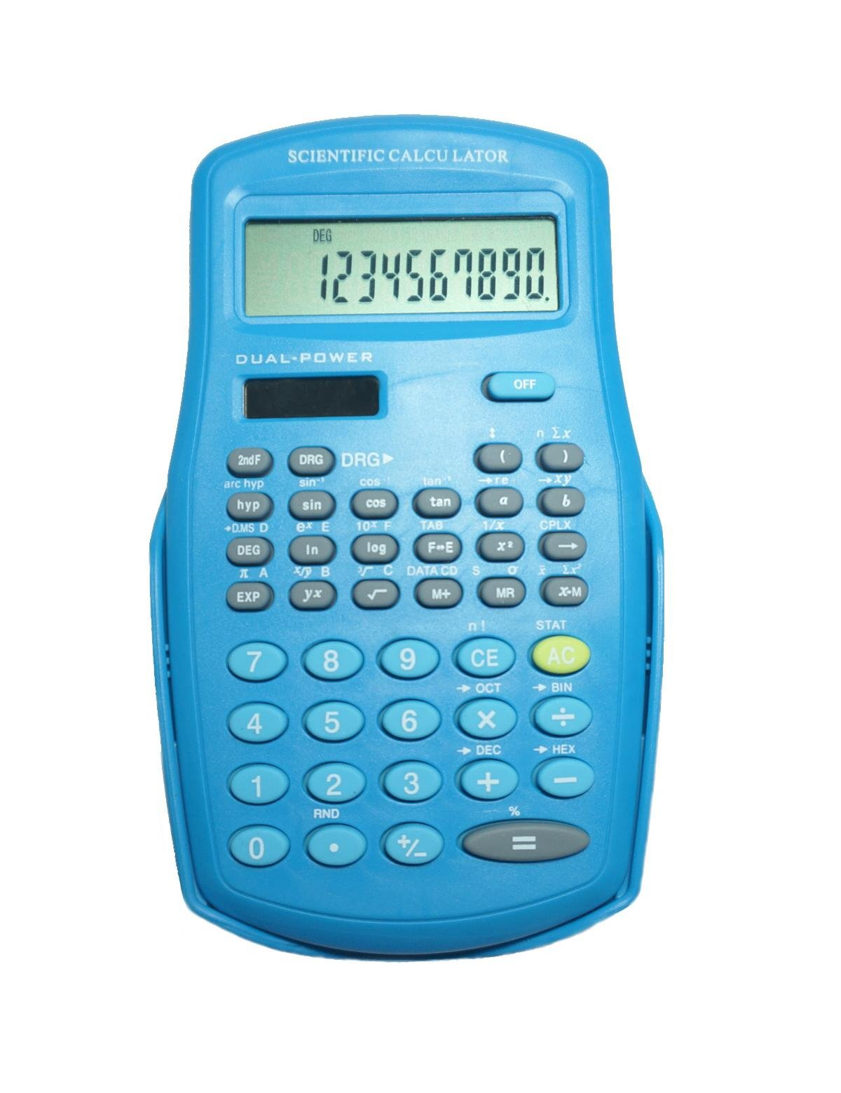 Scientific Calculator, Engineering Calculator BLUE, Function Science Calculator for Middle School Student, College Students and Engineers, 2-line Display (BLUE)