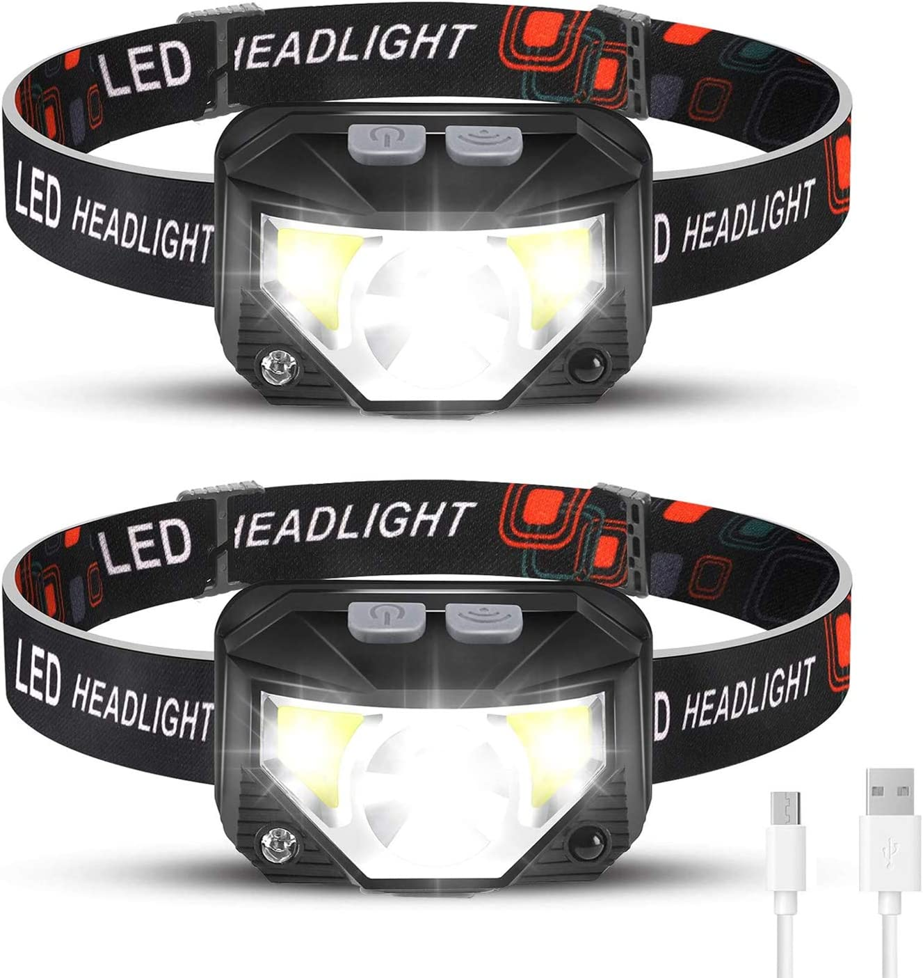 Foxdott Rechargeable Camping Headlamp
