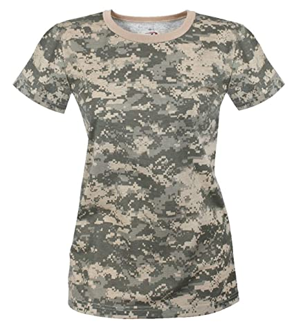 faeaef18d7b8 Amazon.com: Rothco Womens Long Length Camo T-Shirt: Sports & Outdoors