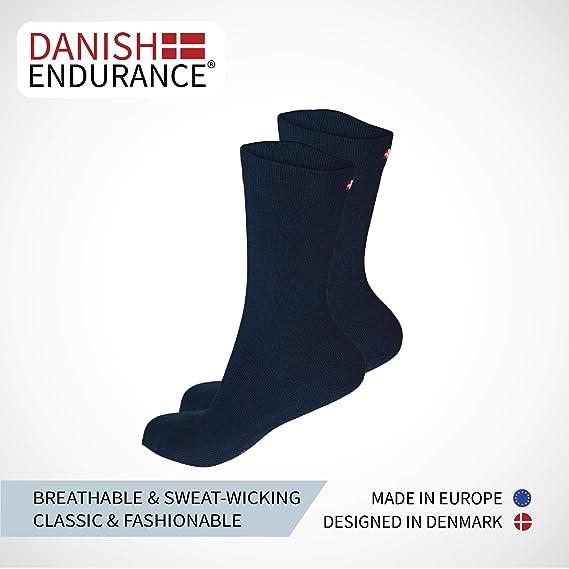 Calcetines de Lana Merino, para hombre y mujer, térmicos transpirables, amortiguados, fabricados en la UE, calcetines clásicos de negocios y uso diario, ...