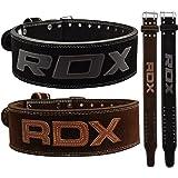RDX Cuir de Vachette Fitness Musculation Cuir Ceinture D'haltérophilie Sudation D'entraînement Poids