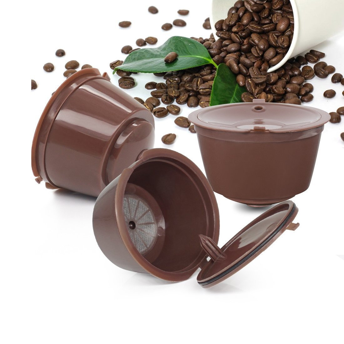 Webest Refillable Coffee Capsules For Nescafe Dolce Gusto Reusable Capsule Dolce Cup Filter