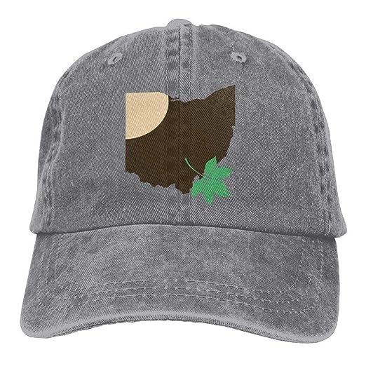 ... promo code for ohio state buckeye leaf snapback casual baseball hat  denim hat for men and ... b788763c5a7c