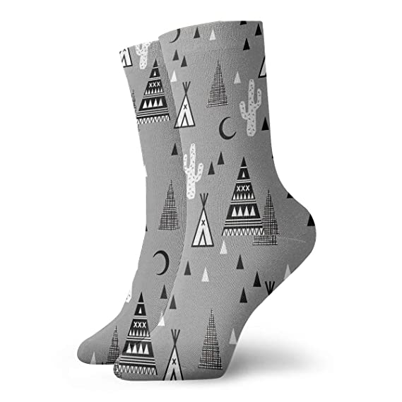 32f42a80c2d Image Unavailable. Image not available for. Color  Cactus Black Moon Personalized  Socks ...