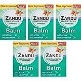 Zandu Balm - 8 ml (Pack of 5)