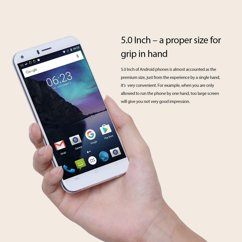 CUBOT Manito - Smartphone Libre 4G Android 6.0,(Pantalla táctil 5.0