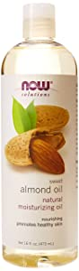 Now Foods Almond Oil, 16 Fl Oz (Pack of 3)