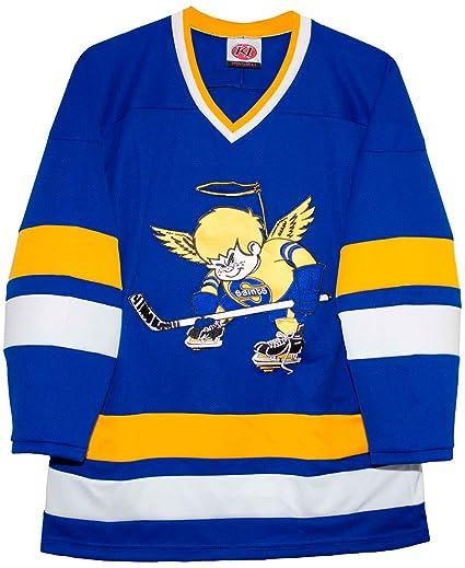 Amazon.com   K-1 Sportswear Minnesota Fighting Saints Blue Away ... 6e1f3999627
