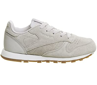 c0403f6b396e6d Reebok Unisex Kids  Cl Leather Sg Running Shoes  Amazon.co.uk  Shoes ...