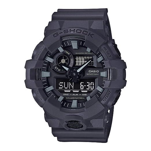 d11f29c9bac0 Casio Reloj Analogico-Digital para Hombre de Cuarzo con Correa en Resina  GA-700UC-8AER  Amazon.es  Relojes