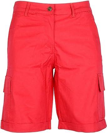 NOROZE Algodón Combat Lienzo Chino Cargo Pantalones Cortos Shorts ...