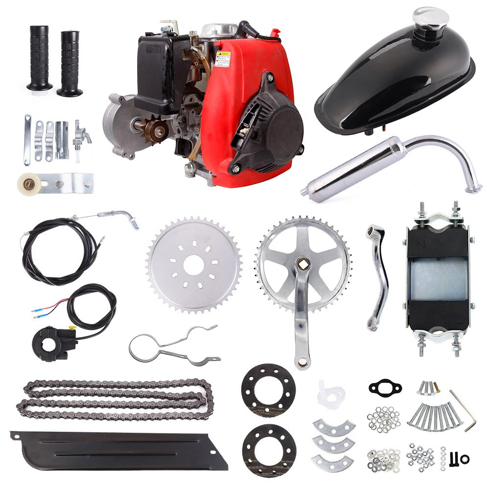 49cc 4-Stroke Cycle Engine Motor Kit Motorized Bike Petrol Gas Bicycle Scooter by Moreyball