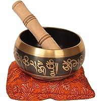 Tibetano tazón tibetano para meditación 10,8cm 630gramos