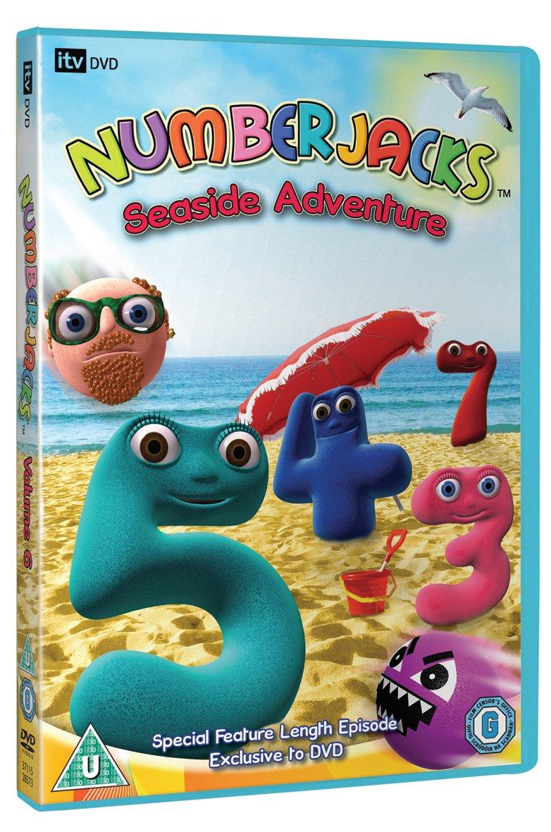 Numberjacks Seaside Adventure DVD Amazoncouk unknown DVD – Numberjacks Birthday Card