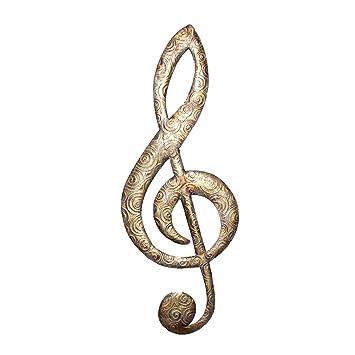 Amazon.com: Esh música Nota Decoración de la pared: Home ...