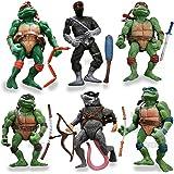 Amazon.com: 365store Ninja Turtles - Juego de figuras de ...