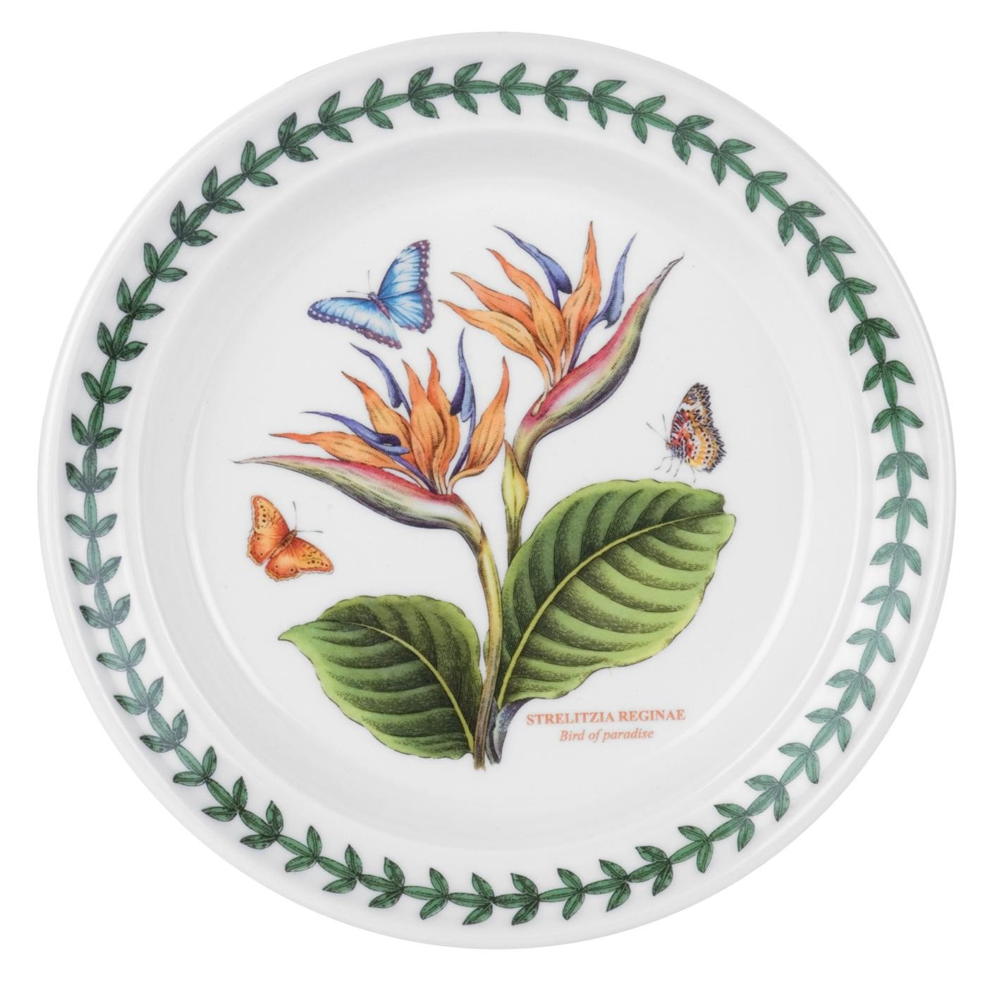 Portmeirion Exotic Botanic Garden Bread and Butter Plate with Bird of Paradise Motif by Portmeirion