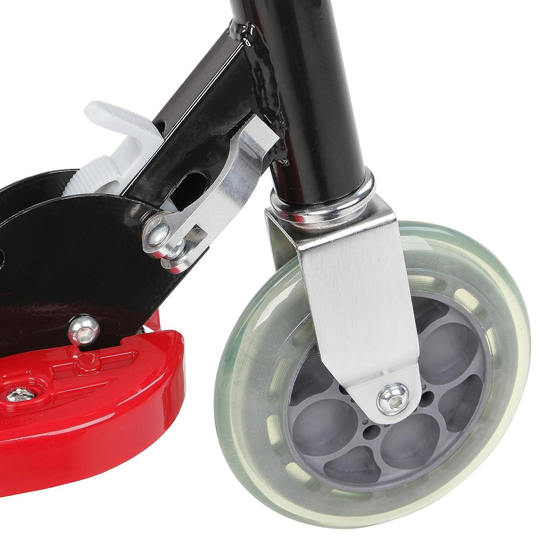 Physionics® - Patinete eléctrico en Color Rojo: Amazon.es: Juguetes y juegos
