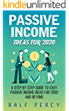 Passive Income Ideas For 2020 ( Learn How to Get Passive Income Fast): A Step by Step Guide to Easy Passive Income Ideas For 2020 and Beyond.