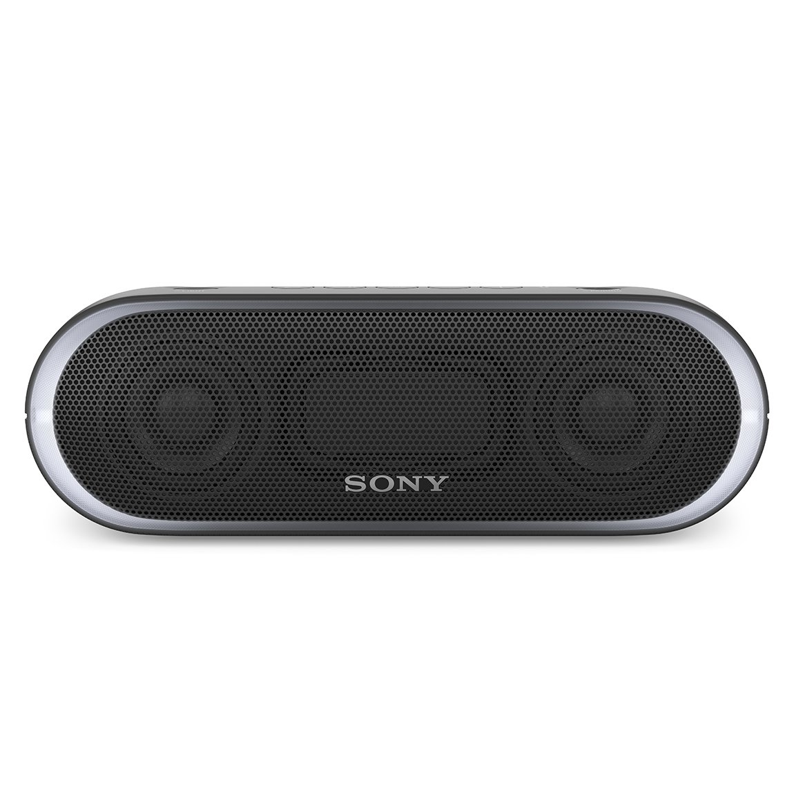 ソニー SONY ワイヤレスポータブルスピーカー 重低音モデル SRS-XB20 : 防水/Bluetooth対応 ライティング機能搭載 ブラック SRS-XB20 B B071CKBMWR  ブラック