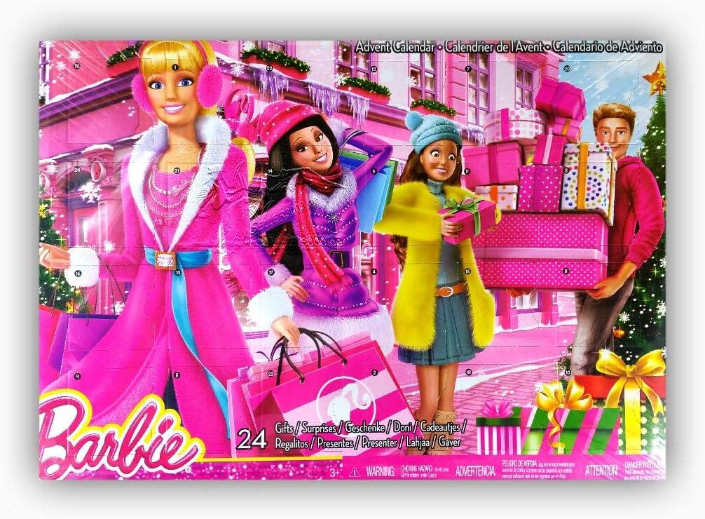 Barbie - Calendario de adviento (Mattel CLR43)