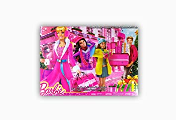 Calendrier Avent Barbie.Barbie Clr43 Accessoire Pour Poupee Calendrier De L Avent