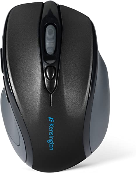 KMW72422 Kensington Pro Fit Mid-Size Wireless Mouse Graphite Gray