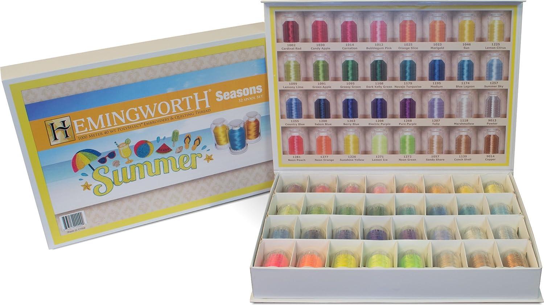 Summer Hemingworth Seasons 32 Spool Set