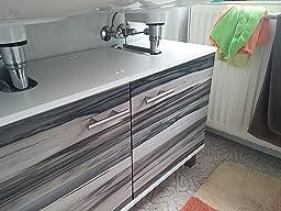 klebefolie möbelfolie walnuss baltimore steingrau d-c-fix 90 breit ... - Dc Fix Folie Küche