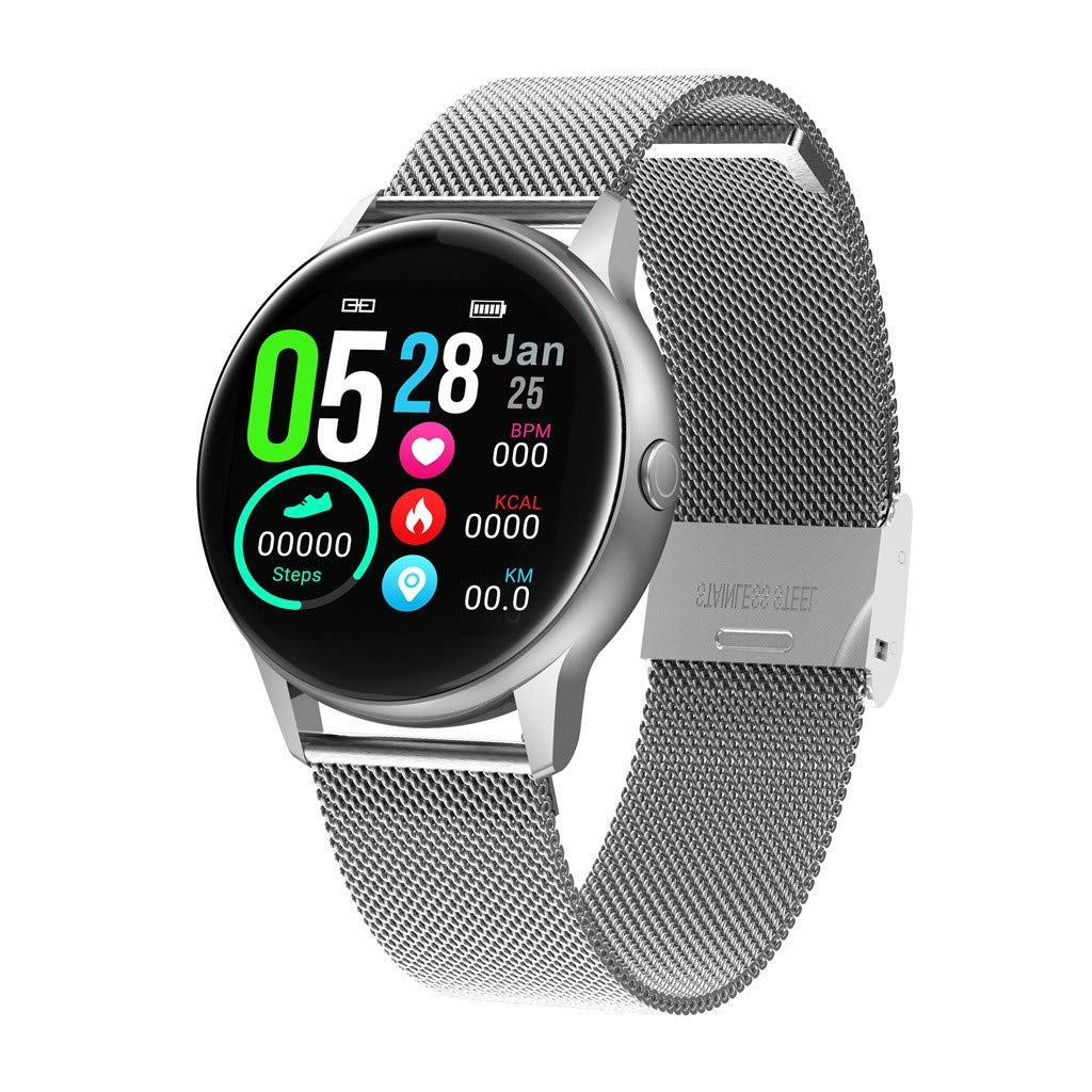 Yezijin DT88 Smart Watch Heart Rate Blood Pressure Sleep Monitor Color Screen Smart Band for Father Men Student Youth Teens Boyfriend Lover's Birthday by YEZIJIN watch