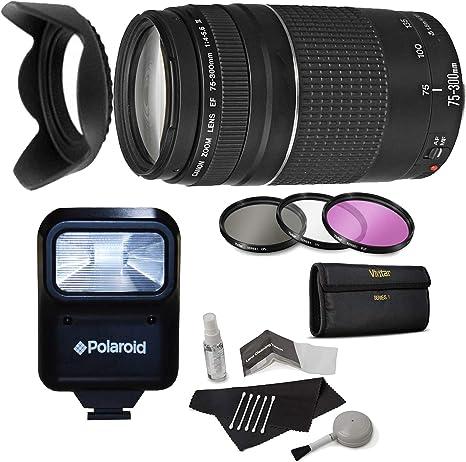 Canon EF 75 – 300 mm f/4 – 5.6 III teleobjetivo Zoom para Canon ...