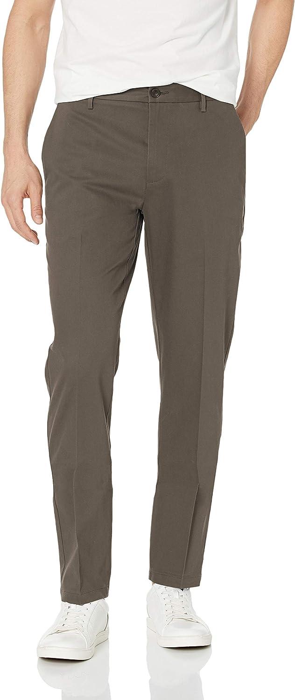 Pantaloni chino eleganti da uomo Marchio atletici antipiega Goodthreads