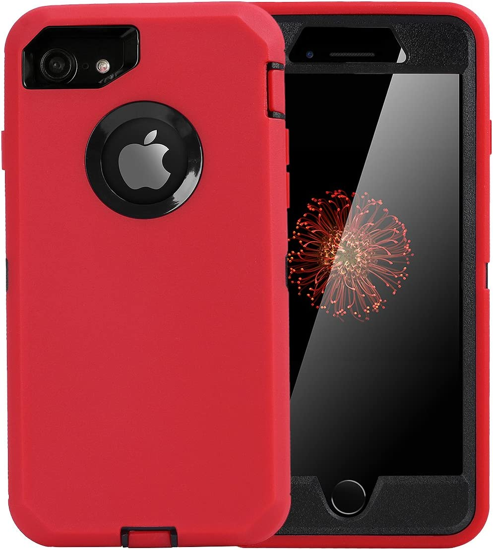 AICase for iPhone 7 Case/iPhone 8 Case/iPhone SE 2020 Case, Drop Protection Full Body Rugged Heavy Duty Case, Shockproof/Drop/Dust Proof Durable Cover for iPhone 7/iPhone 8/iPhone SE [2nd Gen]