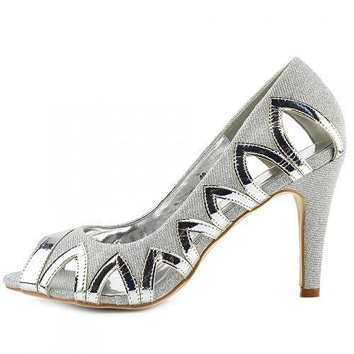 Sandali argentati per donna Kick Footwear m9LCeL