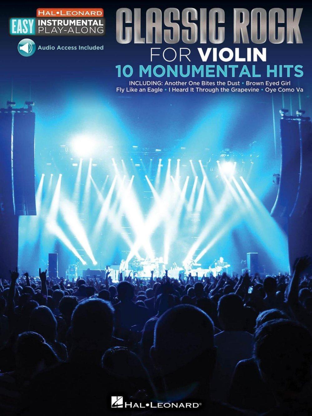 Amazon com: Hal Leonard Classic Rock - Violin - Easy