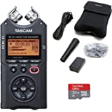 TASCAM DR-40 Digital Recorder with Accessory Kit and 32GB Micro SD Card
