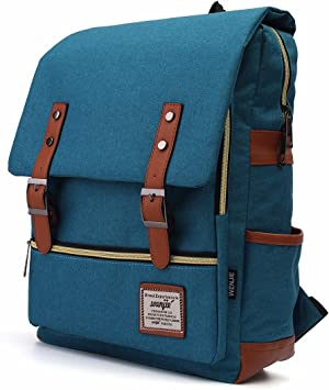 Muttley Retro Japanese Backpack Daypack Rucksack Laptop Shoulder Bag with USB Charging Port