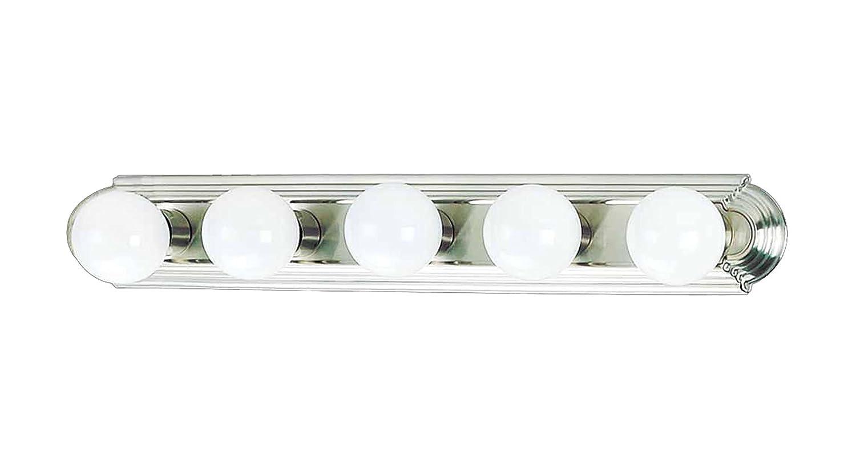 AF Lighting 617565 Beveled Edge Vanity Fixture, Brushed Nickel Finish, 30-Inch