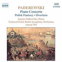 Paderewski: Concerto for Piano in A minor, Op. 17; Polish Fantasia on original themes Op. 19