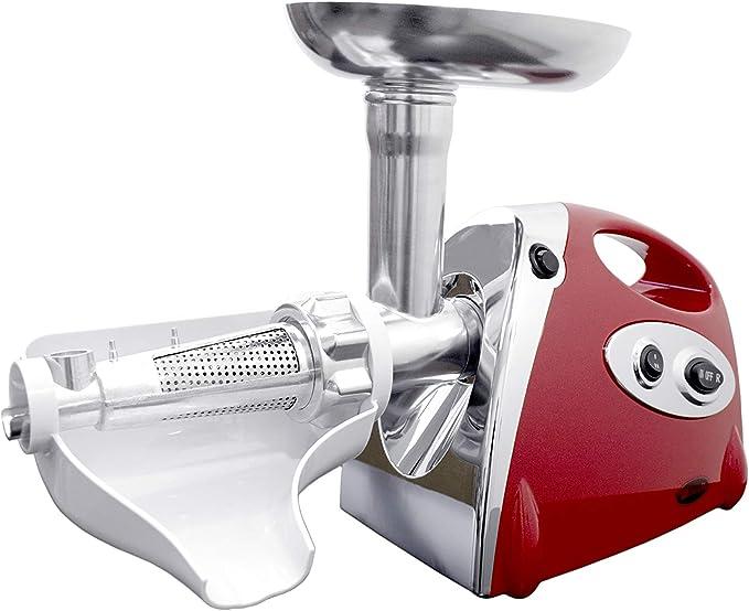 Duhalle 10070 - Picadora de carne y trituradora de tomates: Amazon ...