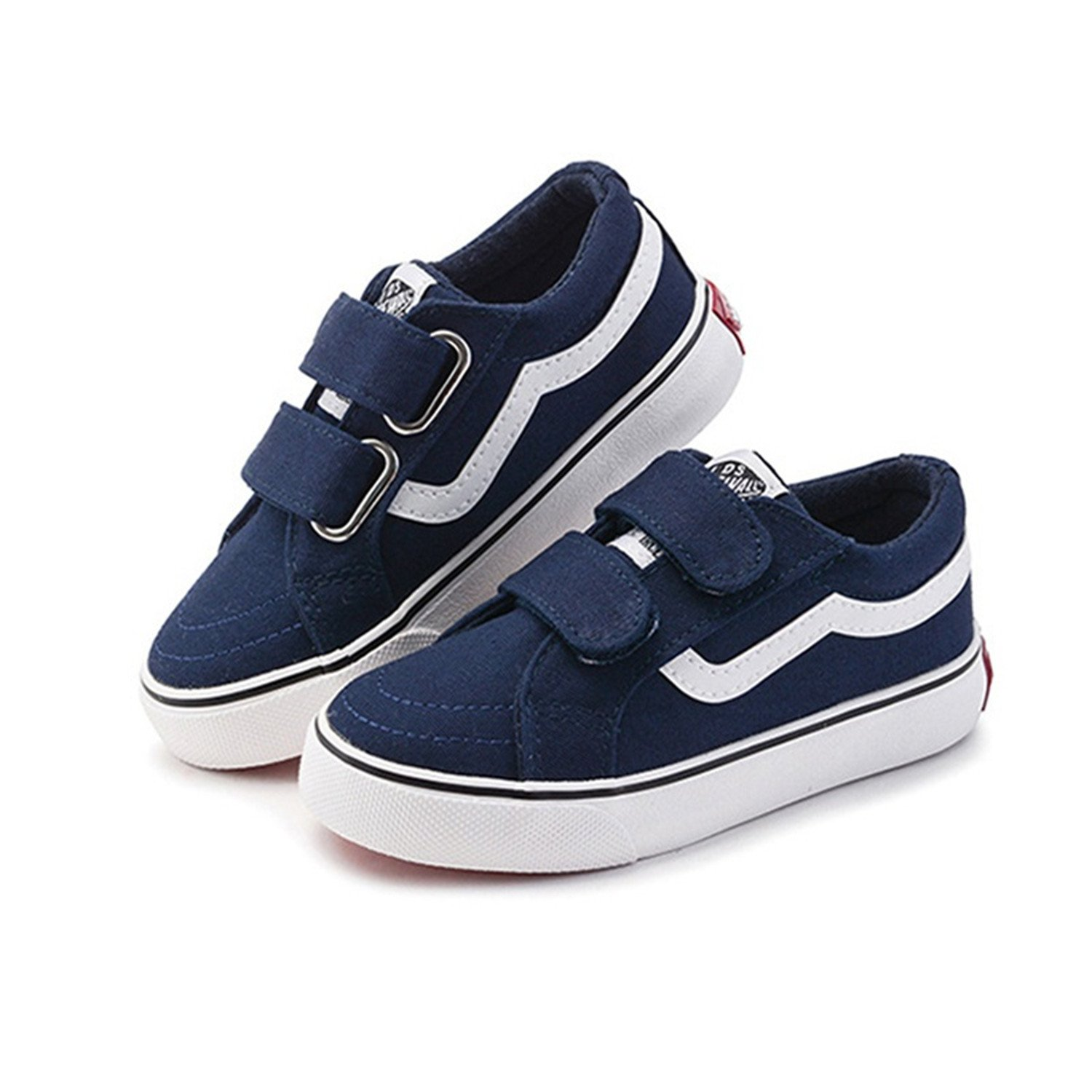 Boy Canvas Children Shoes Black Sneakers 2018 Spring Girls Shoes White Solid Kids Boy Canvas