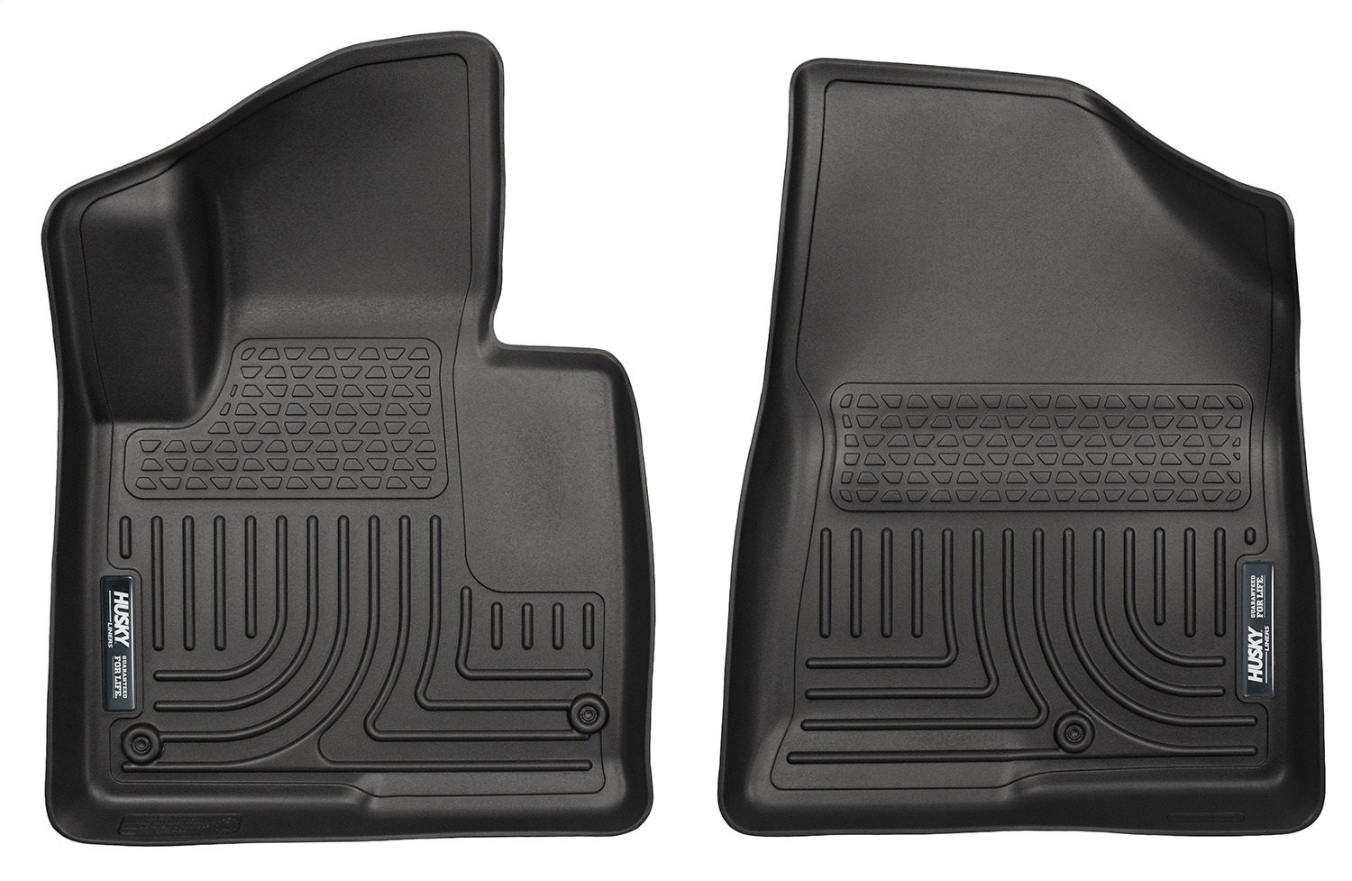Husky Liners 13851 Weatherbeater Series Black Front Floor Liner
