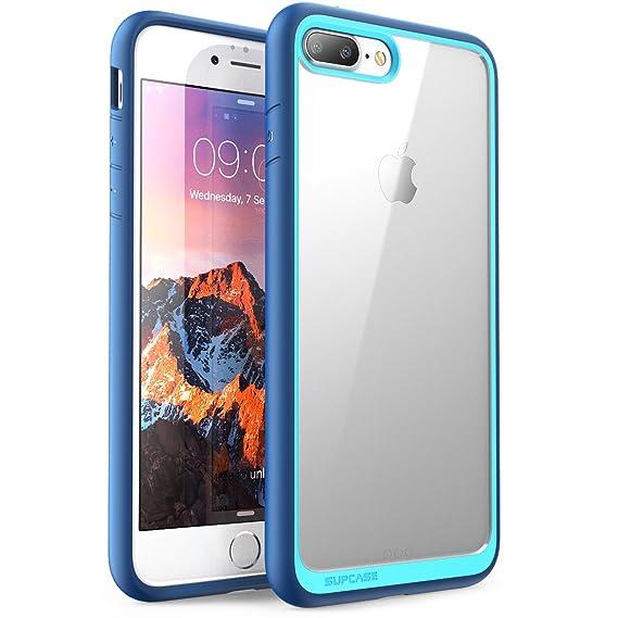 04f7ed982 iPhone 8 Plus Case, SUPCASE Unicorn Beetle Style Premium Hybrid Protective  Clear Bumper Case [