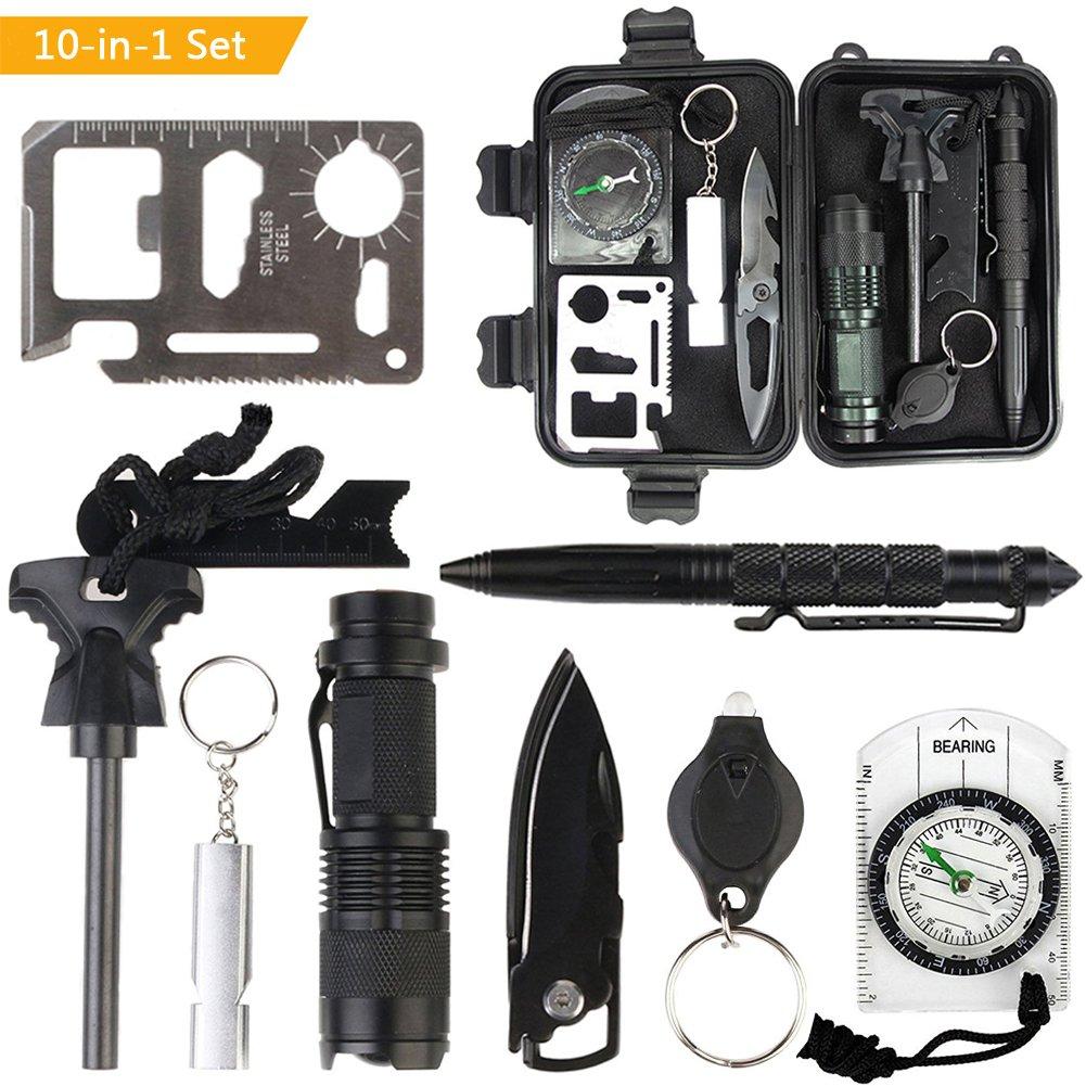 Emergency Prepper Survival Kit Gear Tool Case Disaster